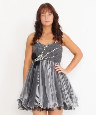 Sheer Animal Print Dress