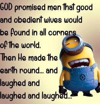 God made obedient wives