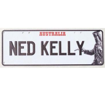 Ned Kelly Number Plate