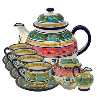 Rainforest Sunset Tea Set