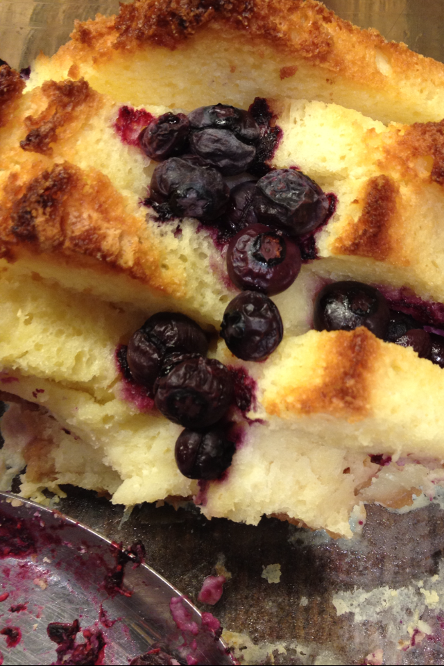 Bread Berry And Butter Pudding